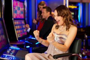 Jackpot in casino